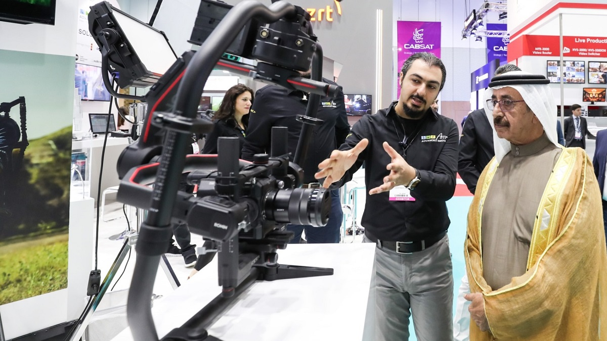 CABSAT 2018 - Official Opening (03)