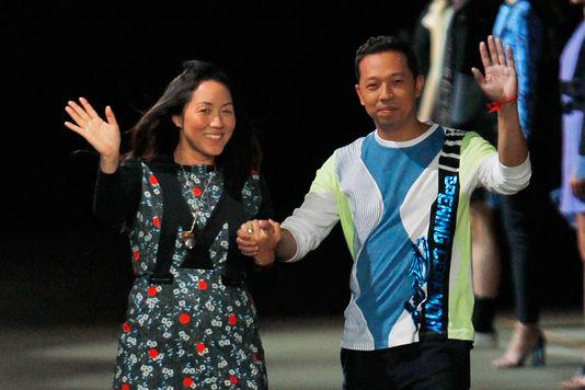 Directeurs Artistiques de Kenzo - Carol Lim et Humberto Leon