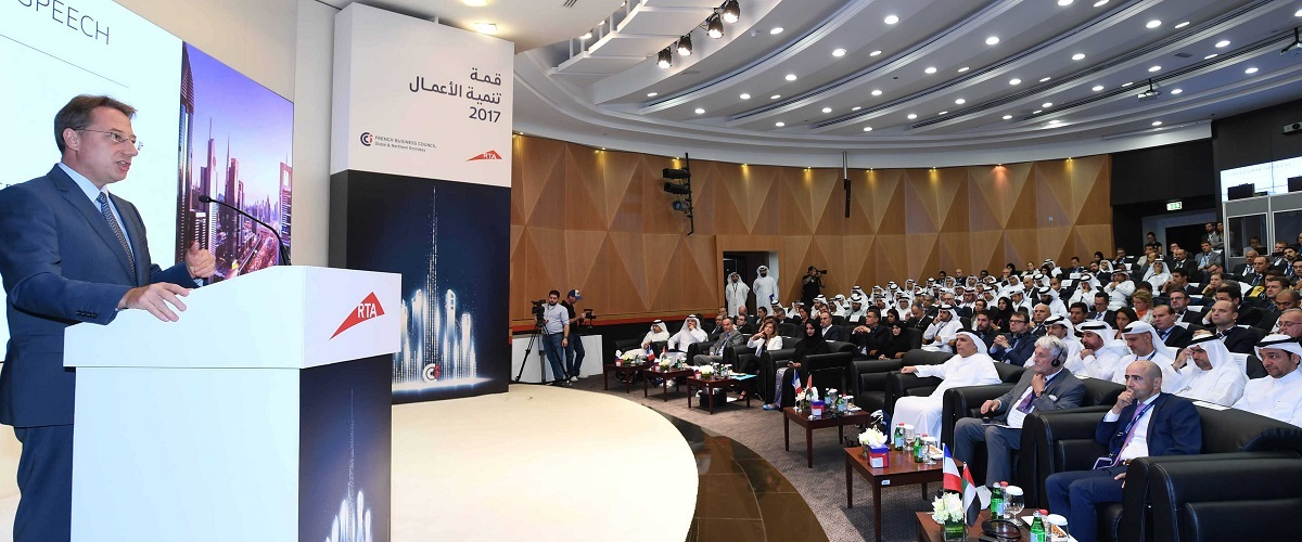 Sommet commercial Franco-Emirien - SE Ludovic Pouille