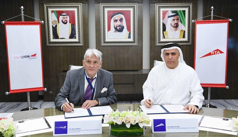 Sommet commercial Franco-Emirien - SE Mattar Al Tayer et SE Alain Galliano