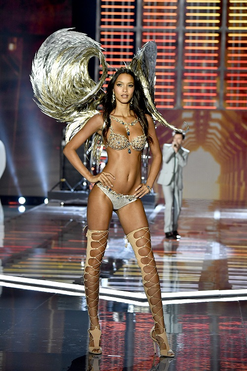 Lais Ribeiro - Champagne Nights Fantasy Bra by Mouawad - Victoria's Secret Fashion Show 2017