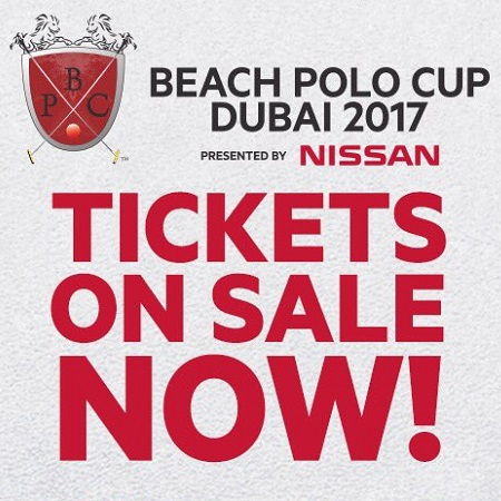 Beach Polo Cup Dubai 2017 - Billets en vente maintenant