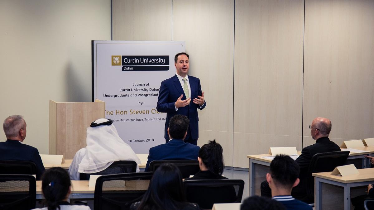 Curtin University annonce des programmes académiques à Dubai