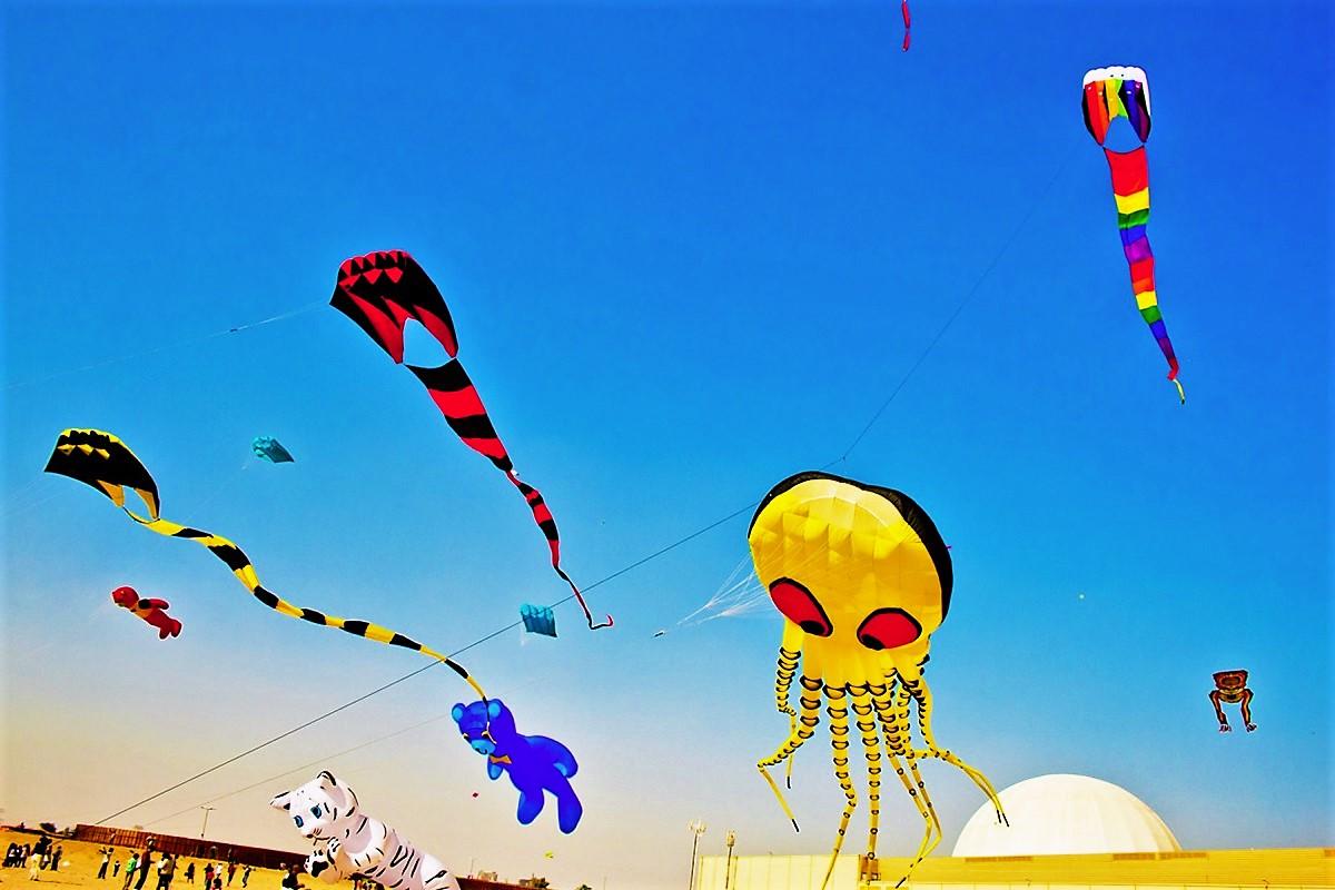Kite Fiesta 2018 - Un festival de cerfs-volants colorés