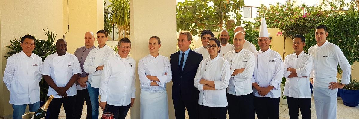 20 restaurants français participants aux EAU - Goût de France 2018 - Résidence de France, Abu Dhabi