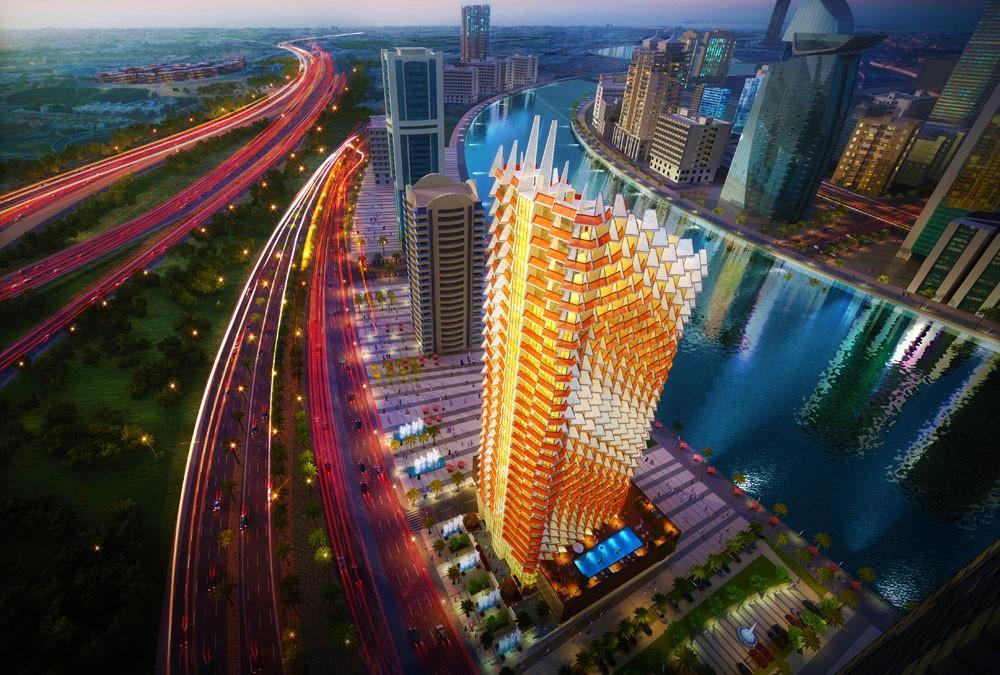 Millennium Binghatti Residences - Un style architectural contemporain et dynamique