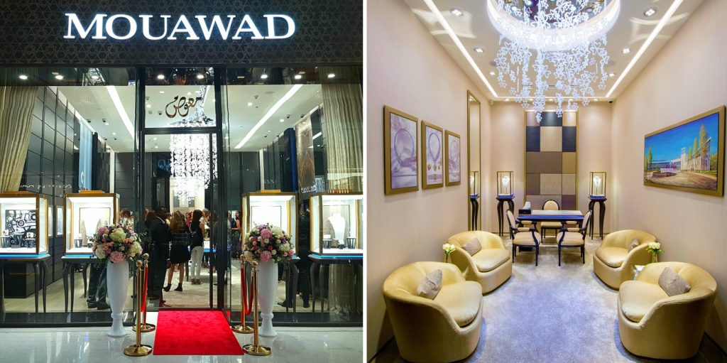 Nouvelle Boutique Mouawad - Dubai Mall