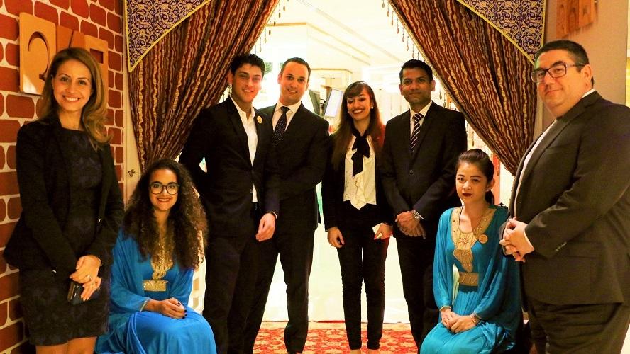 L'équipe Novotel - Festival de la gastronomie iranienne - Novotel Dubai Al Barsha