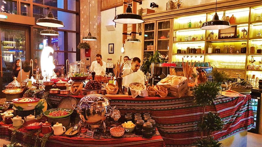Esprit Ramadan au Sikka Café - Style arabe