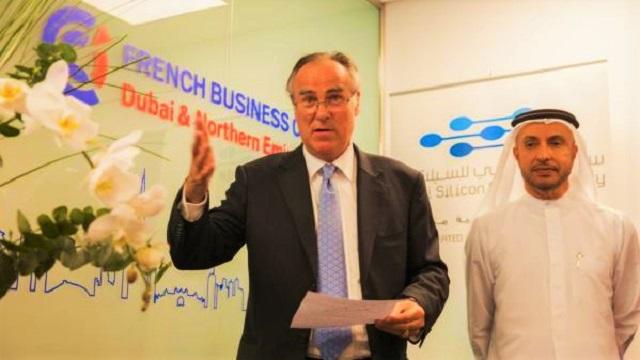 Business Centre by FBC Dubai - Cérémonie d'ouverture - Bruno de Reneville et Dr Mohammed Al Zarooni