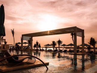 Drift Beach Dubai - Coucher de Soleil