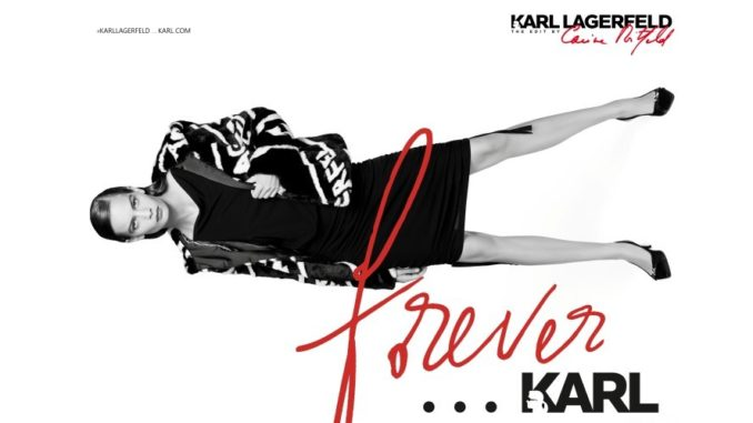 Karl Lagerfeld Edit by Carine