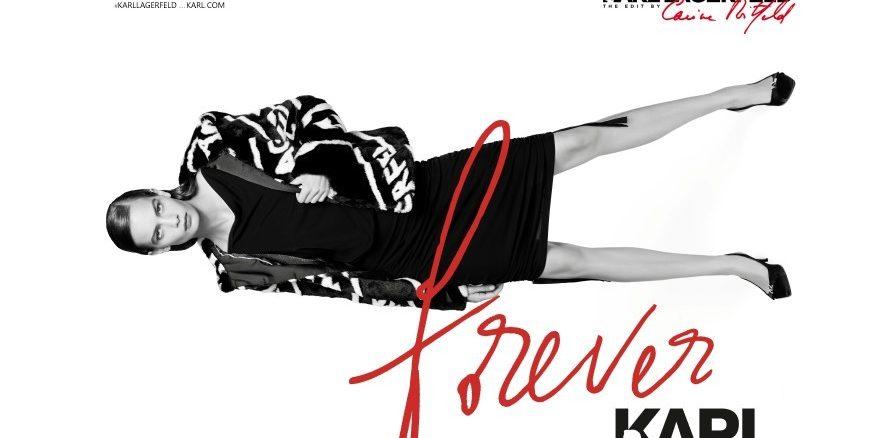 Karl Lagerfeld Edit by Carine