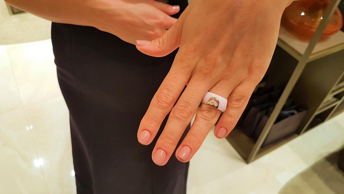 Damiani - D.Icon Rosa Confetto Ring (07)